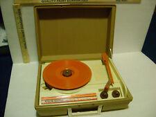VINTAGE DeJay Special Edition  PORTABLE  Record Player - PARTS or REPAIR