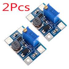 2PCS DC 3.3v 5v 9v 12v 2A Step Up Power Supply Module Adjustable Boost Converter