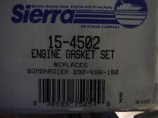 new Sierra 15-4502 Engine Gasket Set Seadoo/bombardier 290-886-180