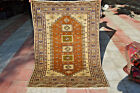 Superb Fine Quality Kazak Pattern with pictorial Daghestan Carpet,Chapat Baft
