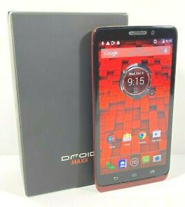 Motorola Droid MAXX XT1080 - 16GB - Black Verizon, GSM Unlocked With Box