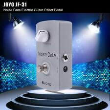 JOYO Noise Gate Guitar Effect Pedal Noise Suppressor True Bypass Gray Hot Z9Y9