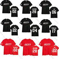 KPOP GOT7 Tshirt T-shirt Tee New Fly Concert Bambam Mark Youngjae Jackson Cotton
