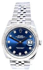 Rolex Datejust 41 Blue Men's Watch - 126334