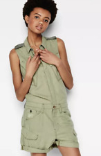 G-star RAW Rovic Short Jump Suit - Rustic Green - Size 8 - XS *REF48
