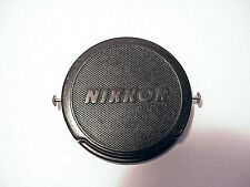 Genuine Vintage 52mm Nikon Snap-on Cap | w/ Metal Side pins | OEM | From USA |