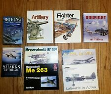 Luftwaffe in action No.2 Squadron/Signal & other Aircraft Books. One is signed.