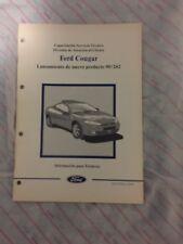 Manual De Taller Y Formación Ford Cougar
