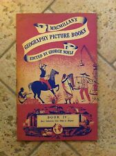 Geography picture books macmillan's edited by george noyle1955