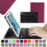 For Apple iPad mini 4 / 3 / 2 / 1 7.9'' Case Cover Stand w/ Bluetooth Keyboard