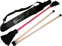 """Commando "" Flower Stick Set with Hand Sticks and Bag - Devil/Juggling Stick"