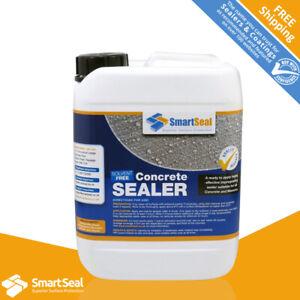 Solvent Free CONCRETE SEALER & DUSTPROOFER  Durable 5L & 25L Internal & External
