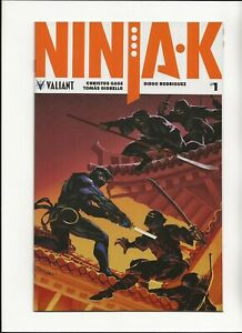 Ninja K #1 Variant Lucas Troya Cover Valiant Comic 2018 NM Gage