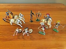 AOHNA Greek EVZONE Chariot Britains 1960s Lot