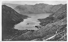 Kotor Bay Montenegro Scenic View Real Photo Antique Postcard (J34536)