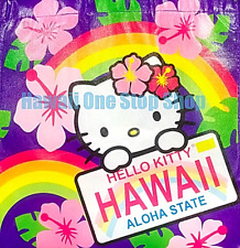 Hawaiian HELLO KITTY HAWAII REUSABLE SHOPPING BAG ALOHA DESIGN Beach Tote Bag