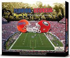 Florida Georgia Rivalry Football Vault Carlson Smith (Gator Bait Dawg Food), New