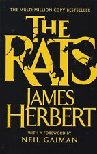 RATS BY JAMES HERBERT - PAPERBACK, NEW BOOK