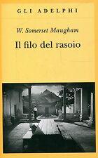 Somerset Maugham William IL FILO DEL RASOIO Adelphi