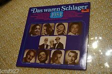 Rare German Pop LP- Das Waren Schlager 1954 - Baptiste - Carol - Valente NM/NM