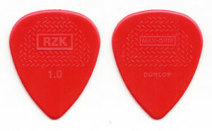 Rammstein Richard Z. Kruspe Signature Red Molded Guitar Pick - 2016 Tour