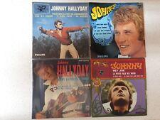"VINYL4* EP 7"" 45 JOHNNY HALLYDAY    ***FRANCE***"