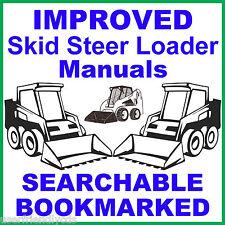 Case 1840 Skid Steer 2 Manuals Service Repair Manual Amp Parts Catalog Best Cd