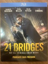 NEW 21 Bridges Blu-Ray w Slipcover Canada Bilingual SEALED