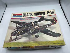 Monogram Model Plane Black Widow P-61 1:48 Jc #7546 [2]