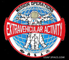 EXTRAVEHICULAR ACTIVITY EVA Mission OPERATIONS NASA JSC SHUTTLE ISS SPACE PATCH