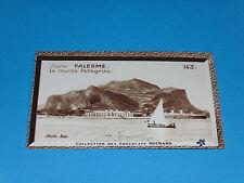 CHROMO PHOTO CHOCOLAT SUCHARD 1934 EUROPE ITALIE ITALIA PALERMO MONTE PELLEGRINO
