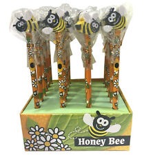 Honey Bee matita con Gomma Set Top (4)