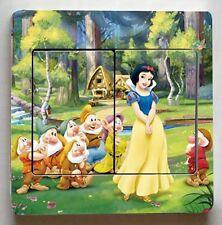 Royaume-Uni Interrupteur de lumière Disney Blanche Neige et les sept 7 Nains Vinyl Sticker decal