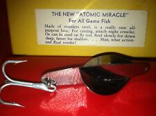 Atomic Bait Miracle Tackle VINTAGE metal FISHING LURE unused in box MICHIGAN