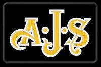 AJS Raptor Regal Silverhawk Parche bordado Thermo-Adhesivo iron-on patch
