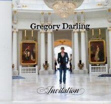 (DI910) Gregory Darling, Invitation - 2012 DJ CD