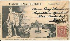CARTOLINA d'Epoca - ROMA Citta': PRIVATIVA