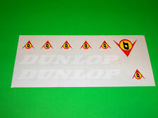 KX CR RM YZ SX 65 85 125 250 DUNLOP TIRES MOTOCROSS ATV QUAD UTV STICKERS DECALS