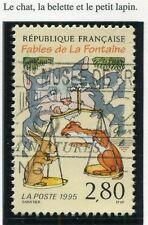 STAMP / TIMBRE FRANCE OBLITERE N° 2962 JEAN DE LAFONTAINE /