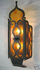 wrought iron moroccan temple sconce spanish style  LS11