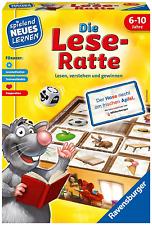 Ravensburger 24956 Die Lese-Ratte Lernspiel Kinderspiel 1-4 Spieler ab 6 Jahre