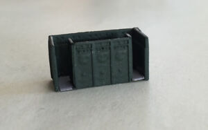 P&D Marsh N Gauge n Scale X81 Cast Iron Victorian gents toilet PAINTED