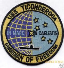 USS TICONDEROGA CV-14 PATCH US NAVY VETERAN WING GIFT VIETNAM CVA CVS ASW WOW