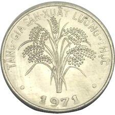 elf South Viet Nam 1 Dong 1971  FAO  Rice