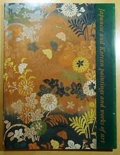 Japanese and Korean Paintings & Works of Art 2002 Izzard Exhibition Catalogue