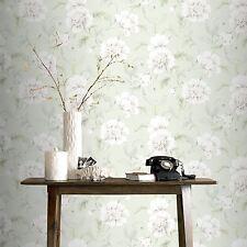 Boutique Papier peint fleur vert - Rasch 226157 FLEURS NEUF