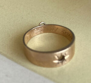 Antique 14K Gold Baby Ring, Size 1 -1.3 Grams No Stone