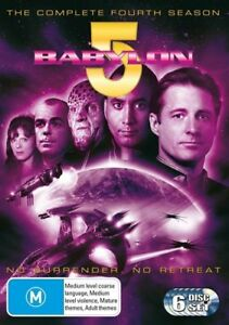 Babylon 5 : Season 4 (DVD, 2004, 6-Disc Set) NEW+SEALED