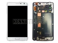 Für Samsung Galaxy Note 4 edge N915F LCD Display Touchscreen+Rahmen Weiß+cover