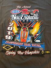 NHRA DRAG RACING 2019 NEW ENGLAND NATIONALS T- SHIRT  SIZE 3X